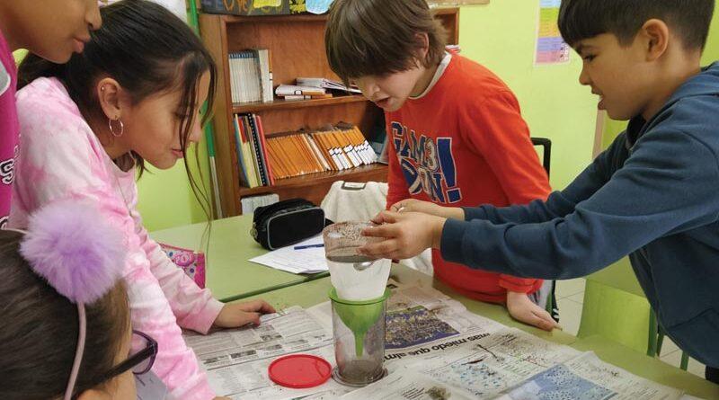 Una aproximación a contenidos de química en la escuela primaria